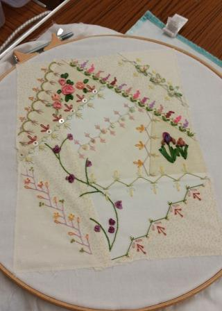 Catherines embroidery