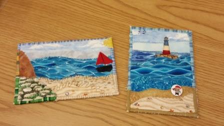 Lesley's postcards
